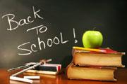 Wieder zur Schule